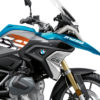 BSTI 3335 BMW R1250GS Cosmic Blue Anniversary Limited Edition Tank Stickers Black Orange 02