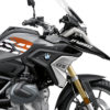BSTI 3336 BMW R1250GS Black Storm Metallic Anniversary Limited Edition Tank Stickers Black Orange 02
