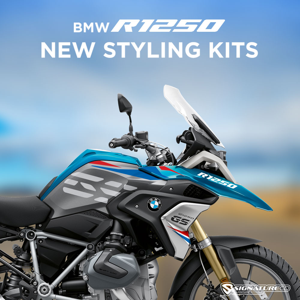 NEW PRODUCTS – BMW R1250GS