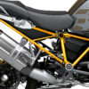 BFS 3341 BMW R1250GS Adventure 2019 Style Exclusive GS Frame Wrap Styling Kit Yellow 02