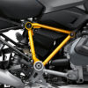 BFS 3343 BMW R1250GS 2019 Cosmic Blue Pyramid Frame Wrap Styling Kit Yellow 02