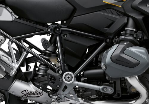 BFS 3344 BMW R1250GS 2019 Style Exclusive Pyramid Frame Wrap Styling Kit Black 02