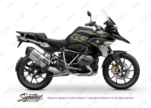 BFS 3344 BMW R1250GS 2019 Style Exclusive Pyramid Frame Wrap Styling Kit Silver 01