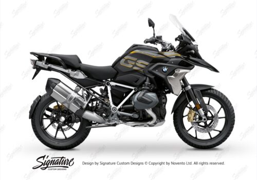 BFS 3344 BMW R1250GS 2019 Style Exclusive Pyramid Frame Wrap Styling Kit White 01