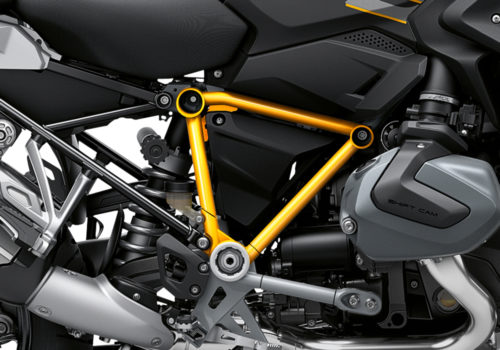 BFS 3344 BMW R1250GS 2019 Style Exclusive Pyramid Frame Wrap Styling Kit Yellow 02