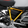 BFS 3345 BMW R1250GS Adventure 2019 Ice Grey Pyramid Frame Wrap Styling Kit Yellow 02