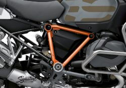 BFS 3346 BMW R1250GS Adventure 2019 Style Exclusive Pyramid Frame Wrap Styling Kit Orange 02