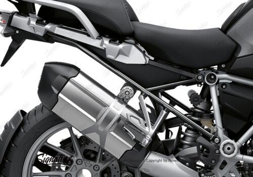 BFS 3347 BMW R1250GS 2019 Black Storm Metallic Subframe Wrap Styling Kit Black 02