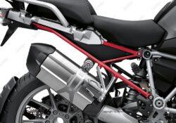 BFS 3347 BMW R1250GS 2019 Black Storm Metallic Subframe Wrap Styling Kit Red 02