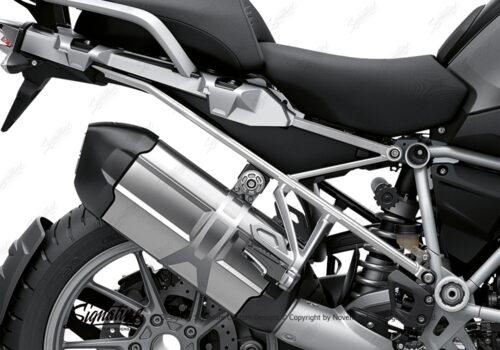 BFS 3347 BMW R1250GS 2019 Black Storm Metallic Subframe Wrap Styling Kit Silver 02