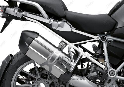 BFS 3347 BMW R1250GS 2019 Black Storm Metallic Subframe Wrap Styling Kit White 02