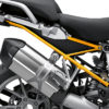 BFS 3347 BMW R1250GS 2019 Black Storm Metallic Subframe Wrap Styling Kit Yellow 02