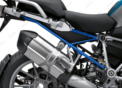 BFS 3348 BMW R1250GS 2019 Cosmic Blue Subframe Wrap Styling Kit Cobalt Blue 02