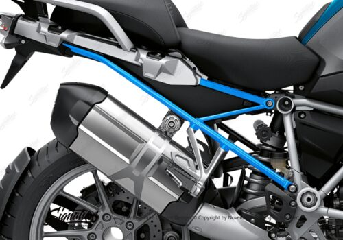 BFS 3348 BMW R1250GS 2019 Cosmic Blue Subframe Wrap Styling Kit Light Blue 02