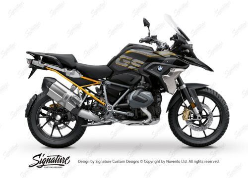 BFS 3349 BMW R1250GS 2019 Style Exclusive Subframe Wrap Styling Kit Yellow 01
