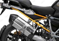 BFS 3349 BMW R1250GS 2019 Style Exclusive Subframe Wrap Styling Kit Yellow 02