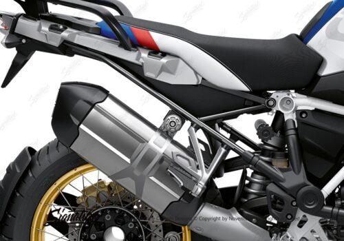 BFS 3350 BMW R1250GS 2019 Style HP Subframe Wrap Styling Kit Black 02