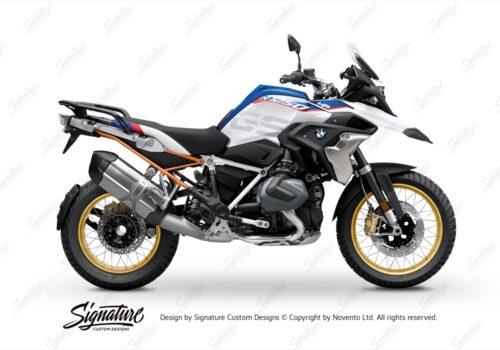 BFS 3350 BMW R1250GS 2019 Style HP Subframe Wrap Styling Kit Orange 01