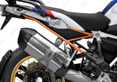 BFS 3350 BMW R1250GS 2019 Style HP Subframe Wrap Styling Kit Orange 02