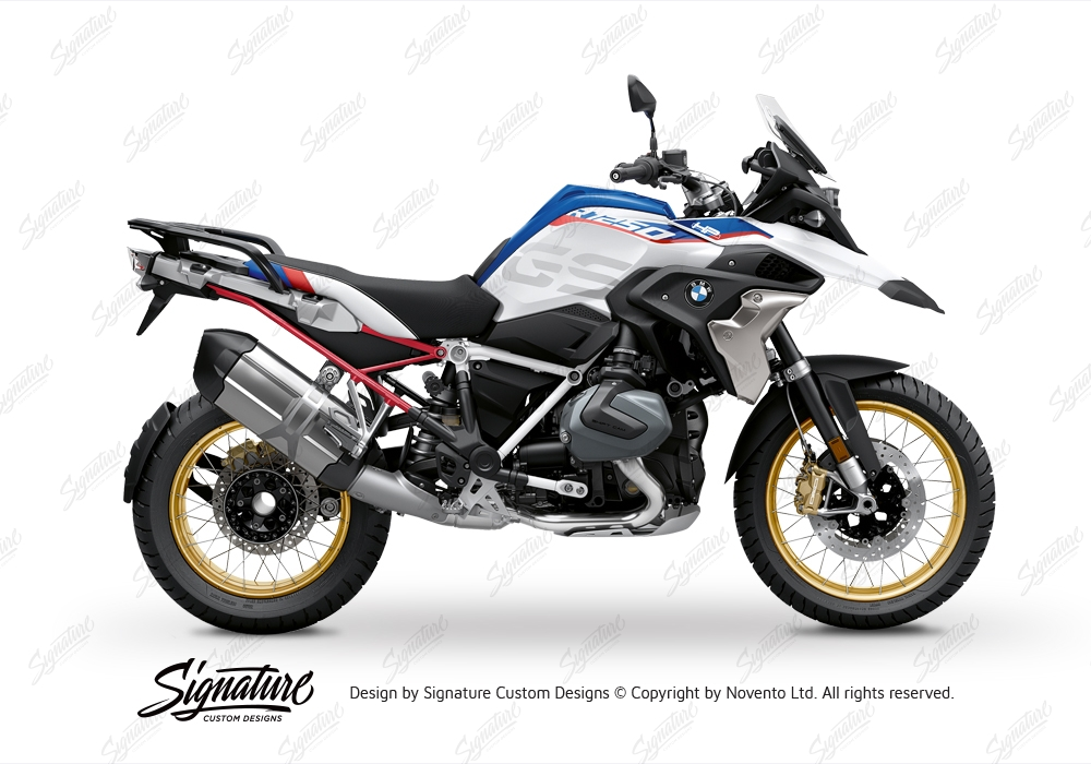 Bmw R1250gs Style Hp Subframe Stickers