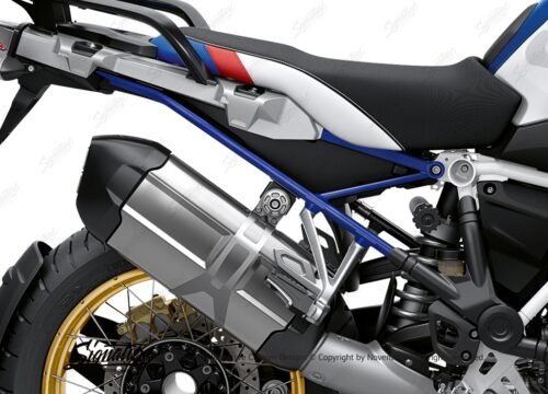 BFS 3350 BMW R1250GS 2019 Style HP Subframe Wrap Styling Kit Royal Blue 02