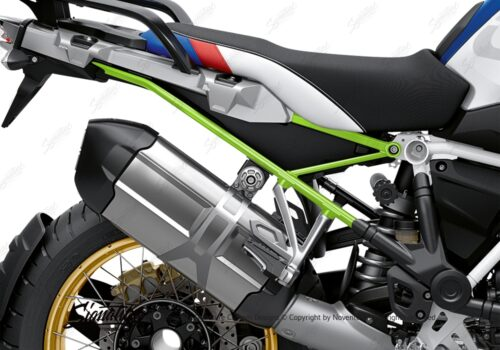 BFS 3350 BMW R1250GS 2019 Style HP Subframe Wrap Styling Kit Toxic Green 02
