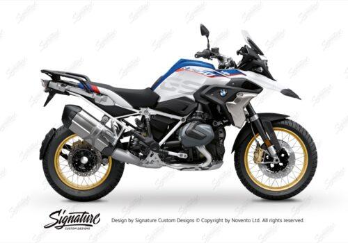 BFS 3350 BMW R1250GS 2019 Style HP Subframe Wrap Styling Kit White 01