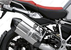 BFS 3351 BMW R1250GS Adventure 2019 Ice Grey Subframe Wrap Styling Kit Black 02