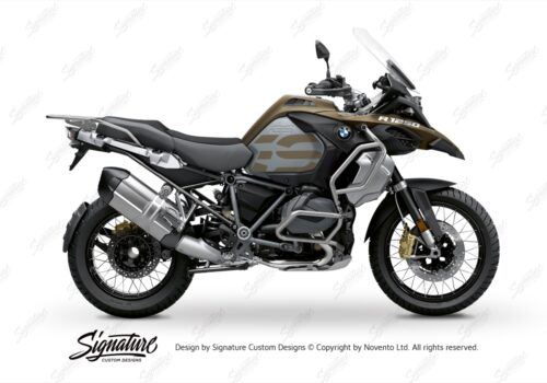 BFS 3352 BMW R1250GS Adventure 2019 Style Exclusive Subframe Wrap Styling Kit Black 01