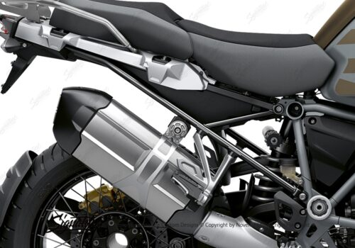 BFS 3352 BMW R1250GS Adventure 2019 Style Exclusive Subframe Wrap Styling Kit Black 02