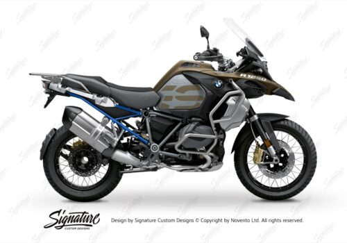 BFS 3352 BMW R1250GS Adventure 2019 Style Exclusive Subframe Wrap Styling Kit Cobalt Blue 01