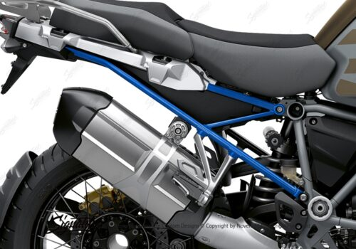 BFS 3352 BMW R1250GS Adventure 2019 Style Exclusive Subframe Wrap Styling Kit Cobalt Blue 02