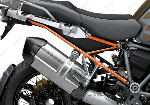 BFS 3352 BMW R1250GS Adventure 2019 Style Exclusive Subframe Wrap Styling Kit Orange 02