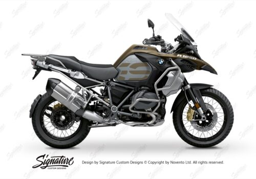 BFS 3352 BMW R1250GS Adventure 2019 Style Exclusive Subframe Wrap Styling Kit Silver 01