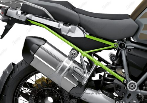 BFS 3352 BMW R1250GS Adventure 2019 Style Exclusive Subframe Wrap Styling Kit Toxic Green 02