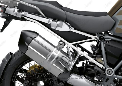 BFS 3352 BMW R1250GS Adventure 2019 Style Exclusive Subframe Wrap Styling Kit White 02