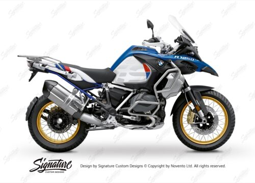 BFS 3353 BMW R1250GS Adventure 2019 Style HP Lupine Blue Subframe Wrap Styling Kit Royal Blue 01