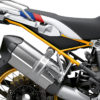 BFS 3353 BMW R1250GS Adventure 2019 Style HP Lupine Blue Subframe Wrap Styling Kit Yellow 02