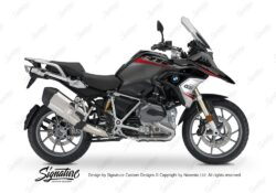 BKIT 3355 BMW R1200GS LC Black Storm Metallic Vivo Series Red Grey Stickers Kit 01