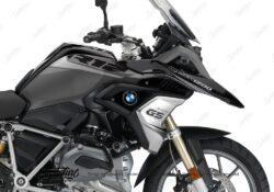 BKIT 3356 BMW R1200GS LC Black Storm Metallic Vivo Series Grey Variations Stickers Kit 02