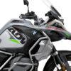 BKIT 3388 BMW R1250GS Adventure Ice Grey Velos Grey Fluo Green Stickers Kit 02