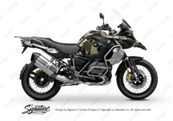 BKIT 3404 BMW R1250GS Adventure Style Exclusive M90 Green Camo Full Wrap 01 1