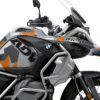 BKIT 3407 BMW R1250GS Adventure Ice Grey M90 Grey Orange Camo Full Wrap 02