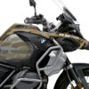 BKIT 3412 BMW R1250GS Adventure Style Exclusive Safari Champagne Metallic Stickers Kit 02