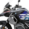 BSTI 3408 BMW R1250GS Adventure Ice Grey Anniversary Limited Edition Tank Stickers Blue Variations 03
