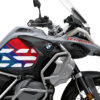 BSTI 3408 BMW R1250GS Adventure Ice Grey Anniversary Limited Edition Tank Stickers Msport 02