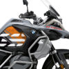 BSTI 3408 BMW R1250GS Adventure Ice Grey Anniversary Limited Edition Tank Stickers Orange Black 02