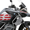 BSTI 3409 BMW R1250GS Adventure Ice Grey GS Lines Tank Stickers Red 02