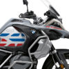 BSTI 3409 BMW R1250GS Adventure Ice Grey GS Lines Tank Stickers Red Blue 02