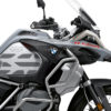 BSTI 3409 BMW R1250GS Adventure Ice Grey GS Lines Tank Stickers Silver 02